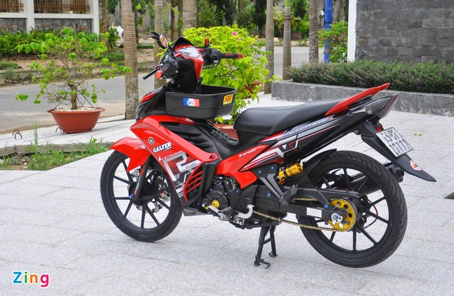 Exciter 135 do cua biker mien Tay anh 13