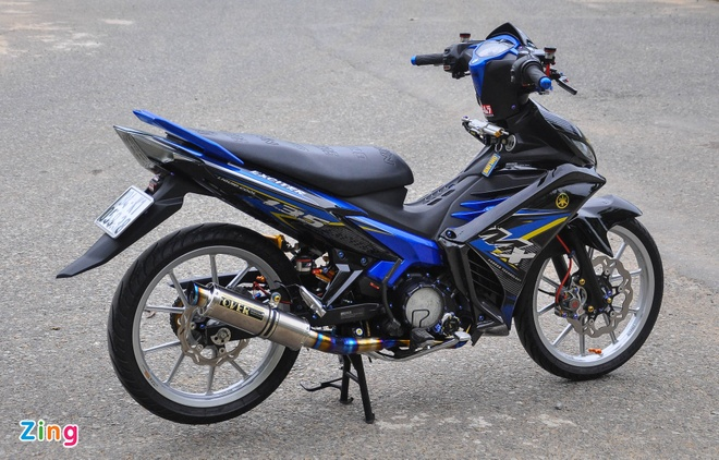 Exciter 135 do cua biker mien Tay anh 2