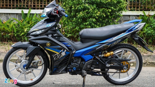 Exciter 135 do cua biker mien Tay anh 3