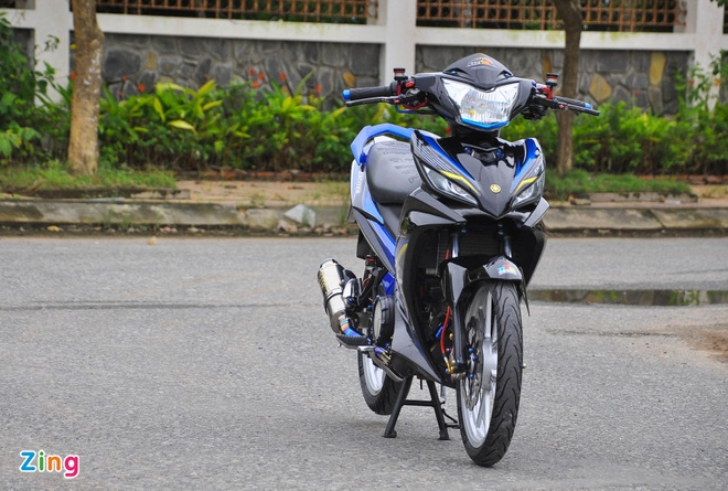 Exciter 135 do cua biker mien Tay anh 4
