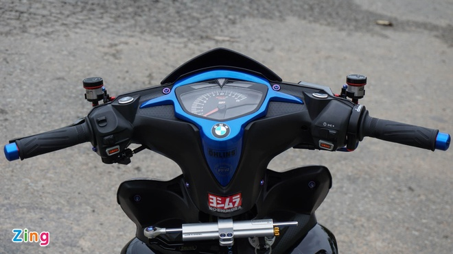 Exciter 135 do cua biker mien Tay anh 6