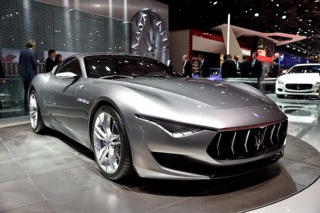 Maserati san xuat sieu xe dien canh tranh Tesla hinh anh