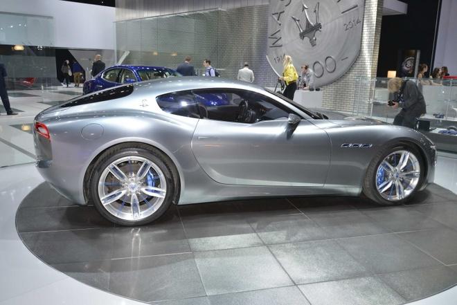 Maserati san xuat sieu xe dien canh tranh Tesla hinh anh 2