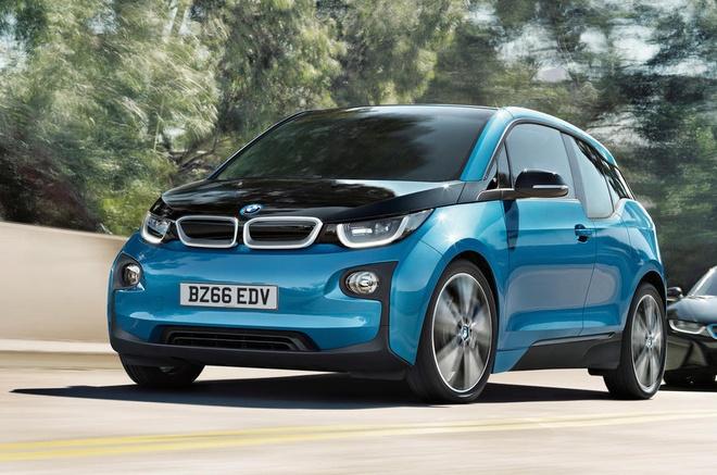 BMW i3 2017 chay duoc 300 km moi lan sac hinh anh 1