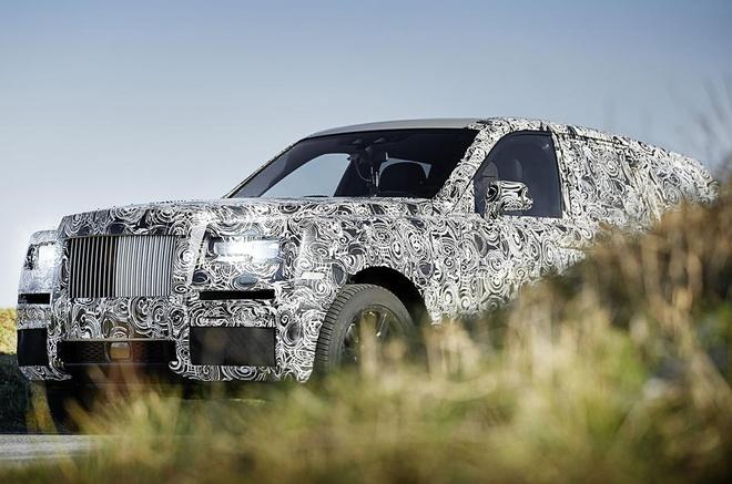 Xe SUV cua Rolls-Royce lan dau lo dien hinh anh 1