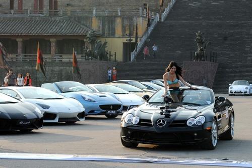 Trung Quoc tang thue 10% de han che sieu xe hinh anh