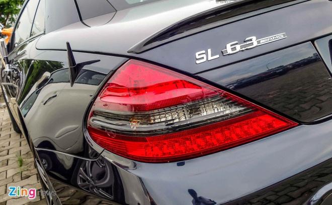 Xe the thao hiem Mercedes SL63 AMG cua dai gia Sai Gon hinh anh 5