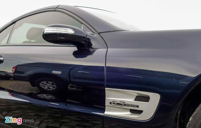 Xe the thao hiem Mercedes SL63 AMG cua dai gia Sai Gon hinh anh 7