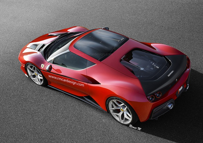 Ferrari gioi thieu xe hiem cho nguoi giau Nhat Ban hinh anh