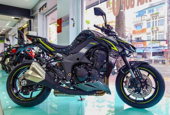 Trai nghiem tinh nang va thu tieng po Kawasaki Z1000 2017 hinh anh