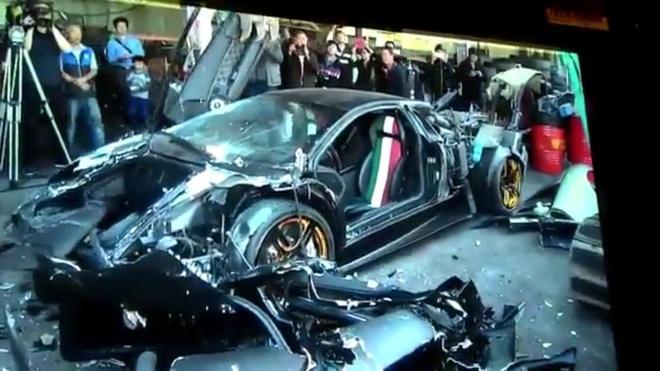 Pha nat Lamborghini Murcielago dung bien so gia o Dai Loan hinh anh 1