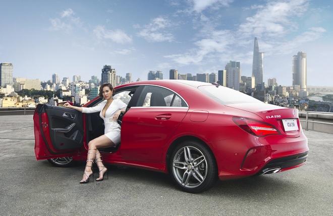 Mercedes-Benz CLA 2017 gia tu 1,5 ty dong tai Viet Nam hinh anh