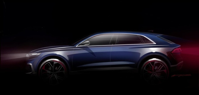 Audi Q8 E-tron lo hinh anh dau tien hinh anh 2