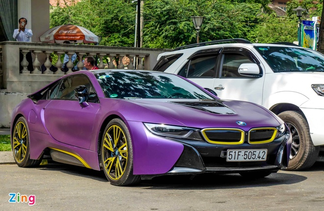 BMW i8 do decal anh 3