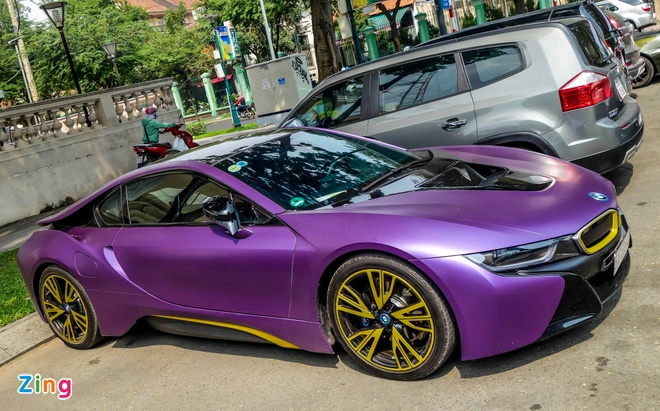 BMW i8 do decal anh 4