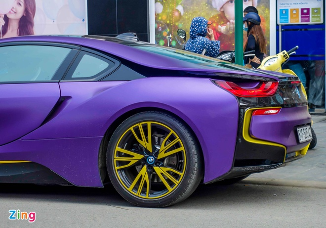 BMW i8 do decal anh 7