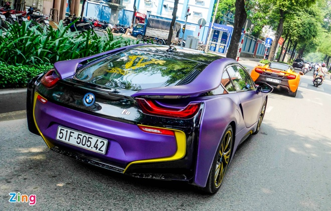 BMW i8 do decal anh 8