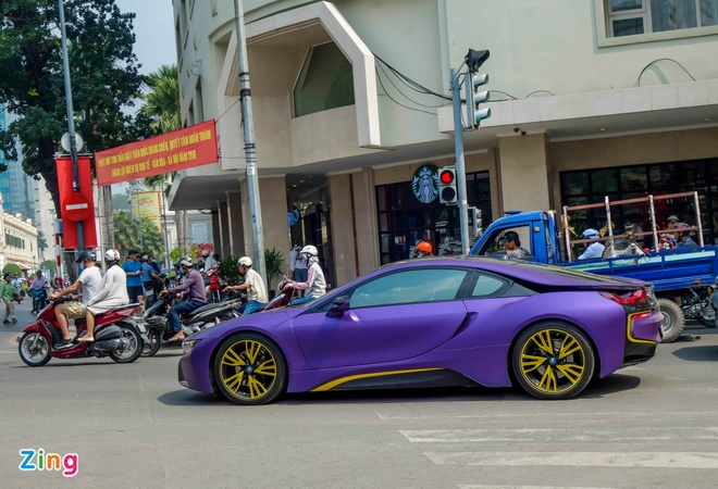 BMW i8 do decal anh 9