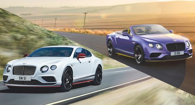 Bentley ra mat Continental ban dac biet hinh anh 1