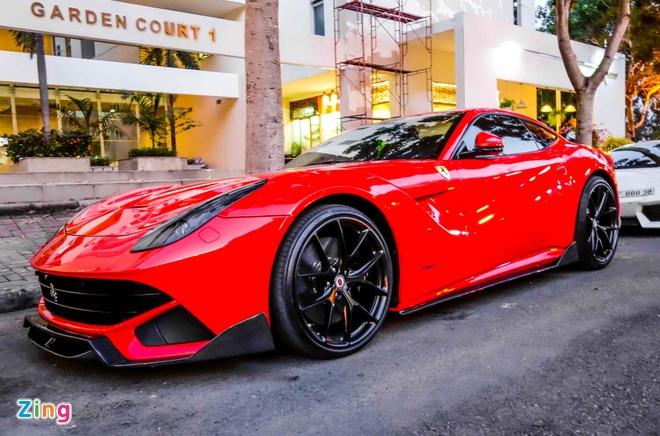 Ferrari F12 cua Cuong Do La anh 1