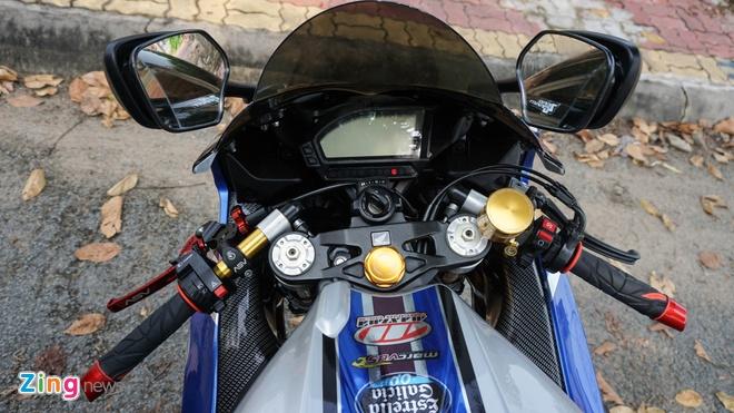 Honda CBR do cua biker Vinh Long anh 8