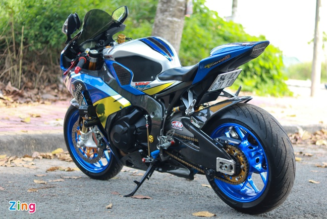 Honda CBR do cua biker Vinh Long anh 3