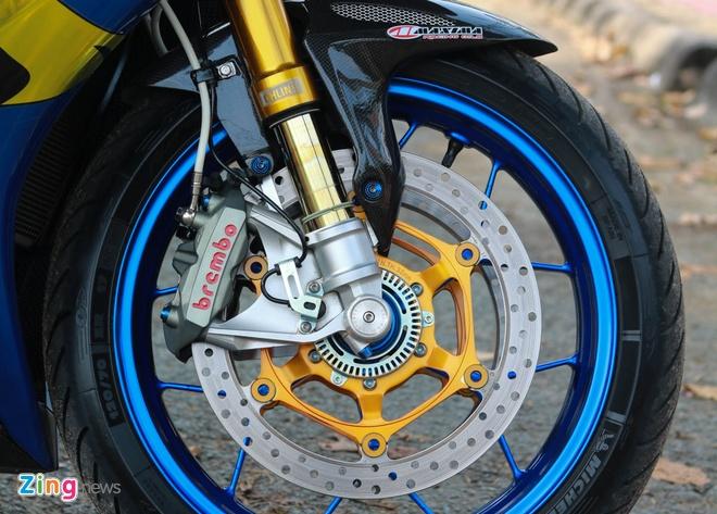 Honda CBR do cua biker Vinh Long anh 4