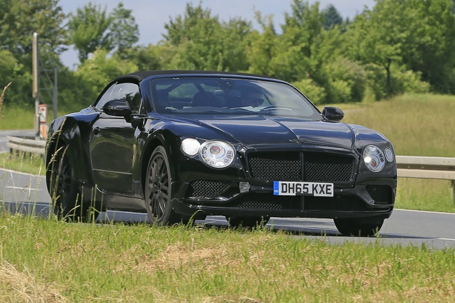 Bentley Continental GT the he moi lo anh thuc te hinh anh