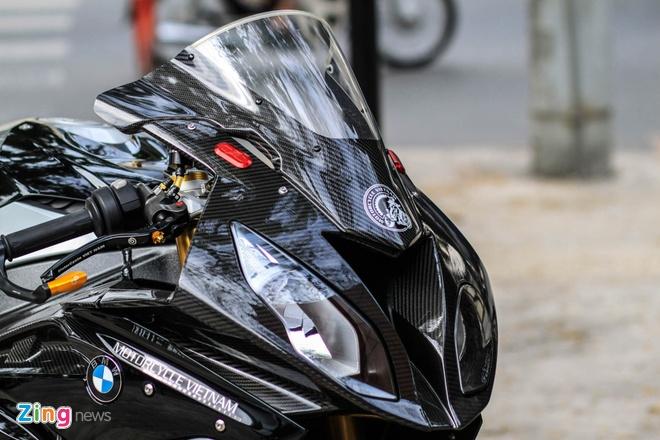 Sieu moto BMW S1000RR do dan ao carbon o Sai Gon hinh anh 2