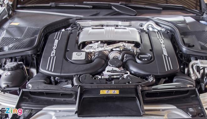 Mercedes C63S cua Cuong Do La anh 7
