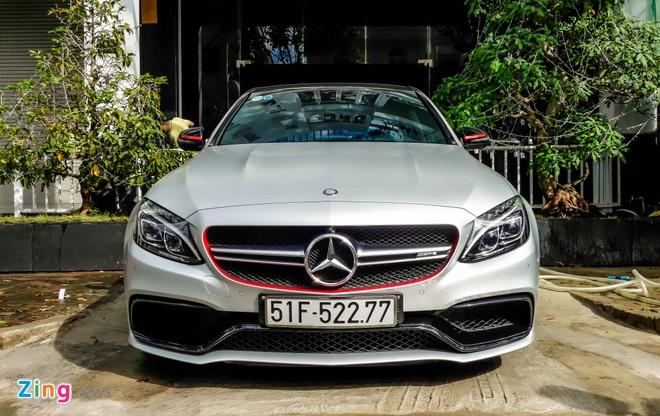 Mercedes C63S cua Cuong Do La anh 1