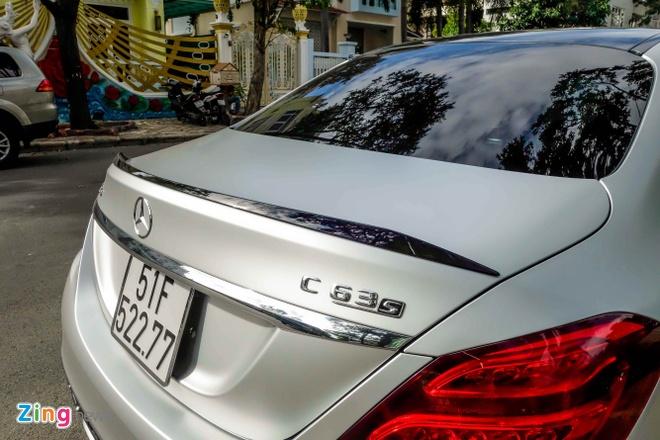Mercedes C63S cua Cuong Do La anh 11