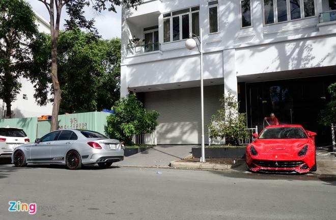 Mercedes C63S cua Cuong Do La anh 12