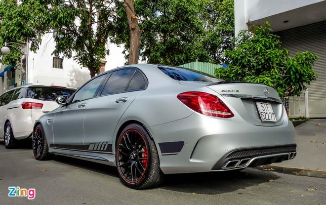 Mercedes C63S cua Cuong Do La anh 3