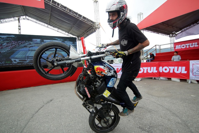 Stunter Thai Lan thang tai Motul Stunt Fest 2017 hinh anh