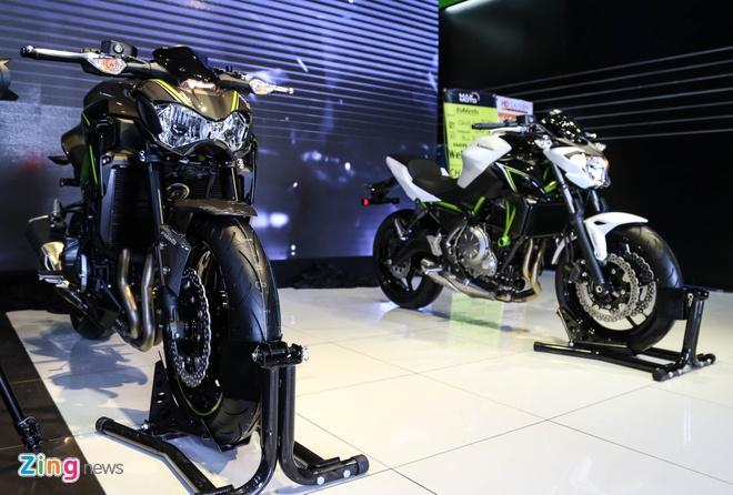 Kawasaki Z900 va Z650 ra mat tai Viet Nam, gia tu 218 trieu hinh anh 1