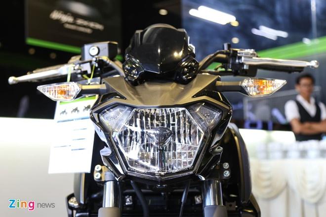 Chi tiet nakedbike gia mem Kawasaki Z650 vua ra mat tai VN hinh anh 9