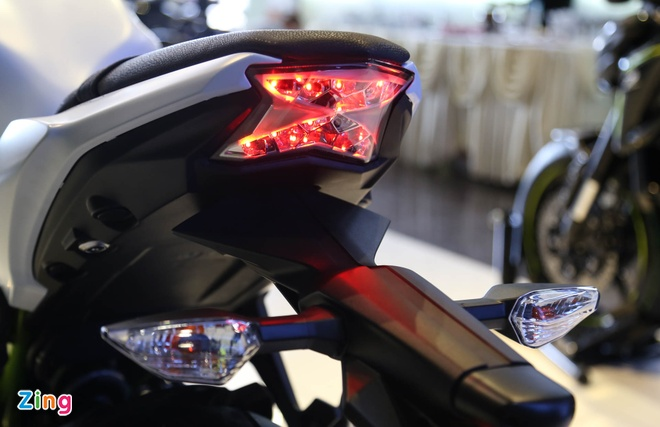 Chi tiet nakedbike gia mem Kawasaki Z650 vua ra mat tai VN hinh anh 10