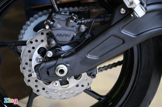 Chi tiet nakedbike gia mem Kawasaki Z650 vua ra mat tai VN hinh anh 11