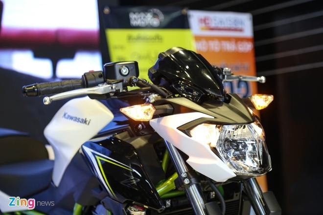 Chi tiet nakedbike gia mem Kawasaki Z650 vua ra mat tai VN hinh anh 4