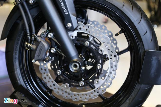 Chi tiet nakedbike gia mem Kawasaki Z650 vua ra mat tai VN hinh anh 8