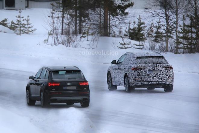 Audi Q8 va Q7 lan dau xuat hien canh nhau hinh anh 2