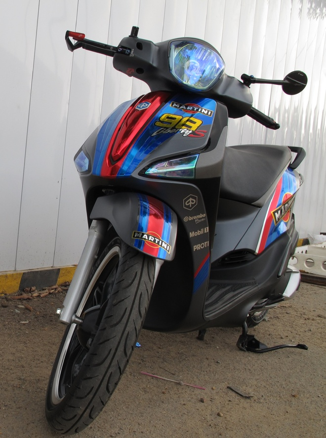 Piaggio Liberty ABS anh 3