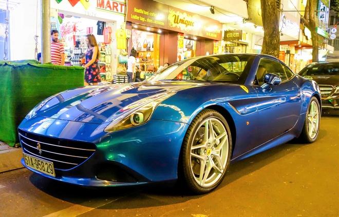 Sieu xe Ferrari California T thu hai xuat hien o Sai Gon hinh anh