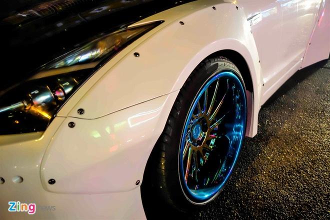 Xe the thao Nissan GT-R do than rong kieu Nhat tai Sai Gon hinh anh 6