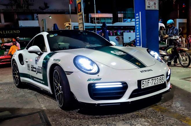 Porsche 'canh sat Dubai' va dan xe the thao Sai Gon di Thai hinh anh