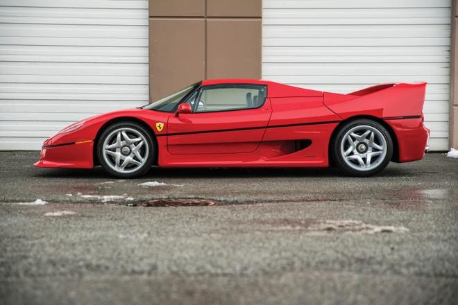 Sieu xe hiem Ferrari F50 cua Mike Tyson duoc rao ban hinh anh