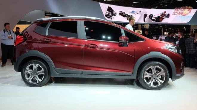 Honda WR-V - dan em CR-V co gia hon 11.000 USD tai An Do hinh anh 2