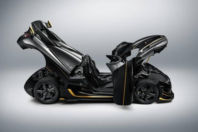 Koenigsegg Agera RS Gryphon ma vang 24 carat hinh anh 3