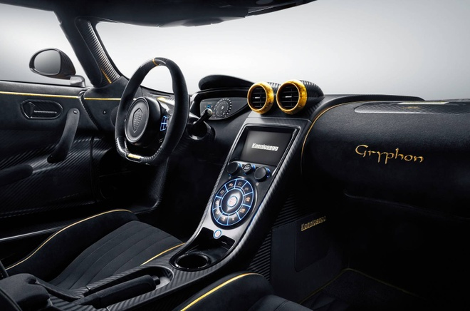 Koenigsegg Agera RS Gryphon ma vang 24 carat hinh anh 2